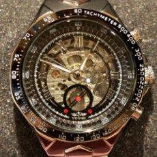 Relojes: EXCELENTE RELOJ AUTOMÁTICO WINNER HOMBRE MAQUINARIA VISTA. Lote 169472777