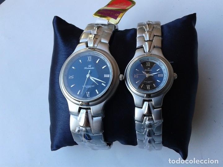 JUEGO DE RELOJES ROMANTIC - MADE IN JAPAN (Relojes - Relojes Actuales - Otros)