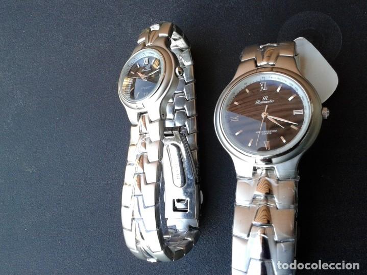 Relojes: JUEGO DE RELOJES ROMANTIC - MADE IN JAPAN - Foto 4 - 169720952