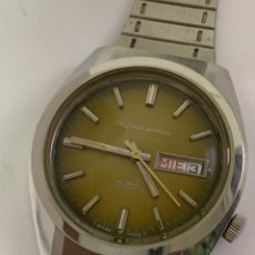 Relojes: RELOJ VINTAGE SUPER WATCH AUTOMÁTICO CALENDARIO SWISS MADE. Lote 169764069