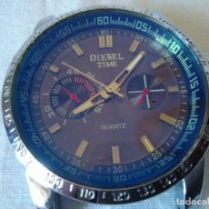 Relojes: 64-RELOJ QUARTZ DIESEL TIME, SIN COMPROBAR.. Lote 169767108