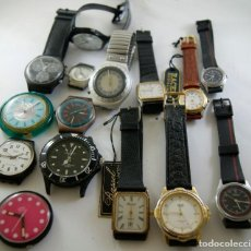 Relojes: LOTE DE 15 RELOJES CUARZO SIN COMPROBAR SWATCH RACER...R80. Lote 169901628