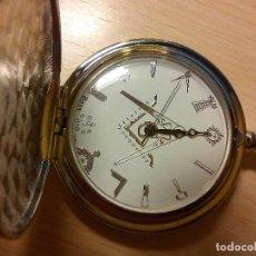 Relojes: RELOJ TEMATICO INGLES MASONICO.. Lote 170010684