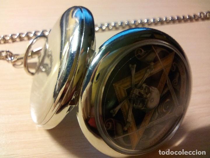 Relojes: RELOJ TEMATICO INGLES MASONICO. - Foto 3 - 170010684