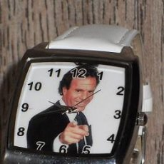 Relojes: RELOJ JULIO IGLESIAS (COLOR BLANCO). Lote 170139152