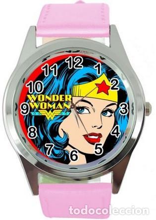 RELOJ WONDER WOMAN (COLOR ROSA) (Relojes - Relojes Actuales - Otros)