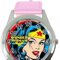 Relojes: RELOJ WONDER WOMAN (COLOR ROSA). Lote 170385541