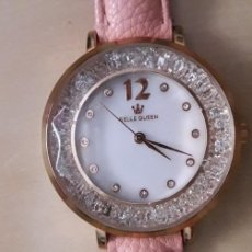 Relojes: RELOJ MUJER ROSA CON NACAR. Lote 170444566