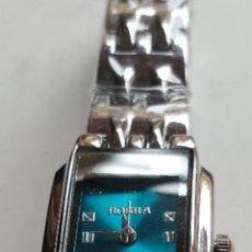 Relojes: BONITO RELOJ DE MUJER ROSRA METAL FUNCIONANDO NUEVO. Lote 170863570