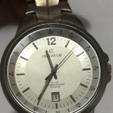 Relojes: RELOJ CRISTIAN LAY 10 AT WATER RESISTANT TITANIUM MUY ELEGANTE. Lote 171017344