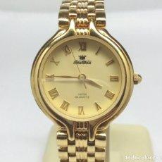 Relojes: RELOJ BLATTINA DE CUARZO PARA MUJER, CHAPADO EN ORO - CAJA 24 MM - FUNCIONANDO. Lote 171334009