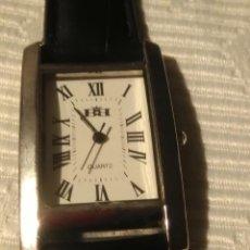 Relojes: RELOJ ACERO INOXIDABLE A PILAS, SIN ESTRENAR, COMPROBADO EN RELOJERO SU CORRECTO FUNCIONAMIENTO. Lote 172086384