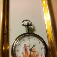 Relojes: RELOJ BOLSILLO MECANISMO EN BOBINADO.. Lote 172160420