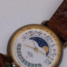 Relojes: RELOJ KF FASE LUNAR QUARTZ. Lote 172236515