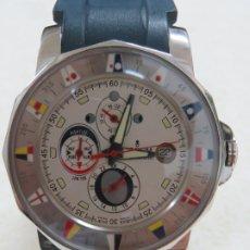 Relojes: FANTASTICO RELOJ CORUM ADMIRAL CUP TIDES MAREES EN SU CAJA Y CON SUS PAPELES, DOS CORREAS,COMO NUEVO. Lote 172848088
