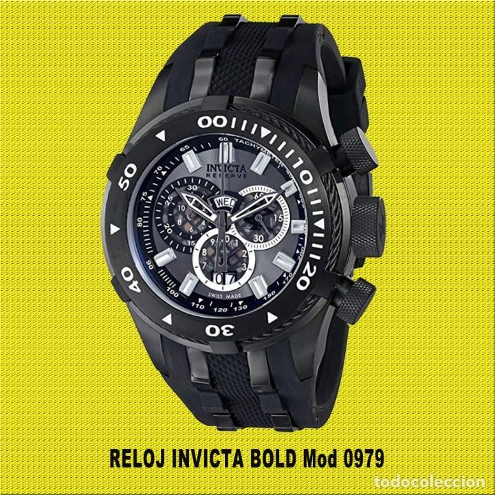 RELOJ INVICTA BOLD MOD 0979 ** ORIGINAL ** MINIMO USO **VER FOTOS ** NO LO DEJES PASAR EL PRECIO (Relojes - Relojes Actuales - Otros)