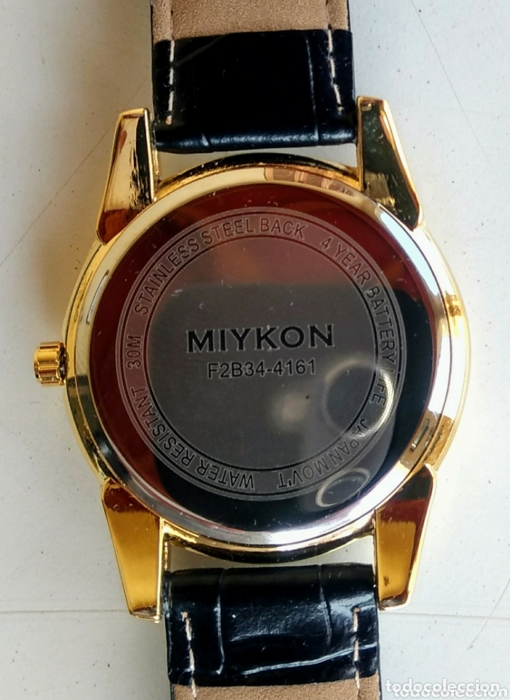 Relojes: Reloj Miykon. Acero inoxidable. Nuevo. - Foto 4 - 173079798