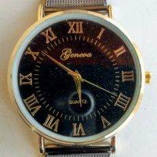 Relojes: RELOJ GENEVA. QUARTZ. ACERO INOXIDABLE. NUEVO.. Lote 173107110
