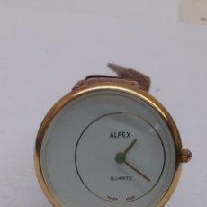 Relojes: RELOJ ALFEX QUARTZ MAQUINA SWISS. Lote 173122425