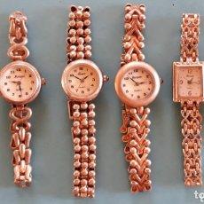 Relojes: LOTE 6 RELOJES DE PLATA FORSAM. Lote 173288022