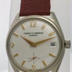 Relojes: CUERVO Y SOBRINOS VINTAGE AÑOS 45-50. Lote 173355498