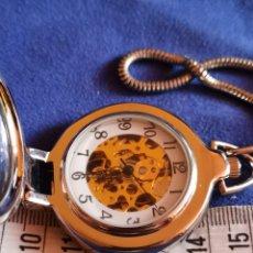 Relojes: RELOJ DE BOLSILLO MÁQUINA VISTA. Lote 173795473