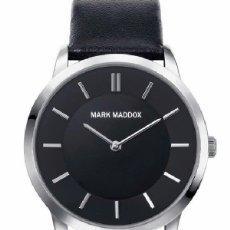 Relojes: MARK MADDOX CORREA NEGRA ¡¡¡ LIQUIDACIÓN !!!. Lote 174381270