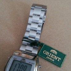 Relojes: RELOJ ORIENT LCD AÑOS 80 NUEVO. Lote 218800355