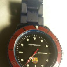 Relojes: RELOJ DEL FCBARCELONA BARÇA, SIN ESTRENAR FUNCIONANDO PILA NUEVA. SUMERGIBLE 30 M. Lote 175147350