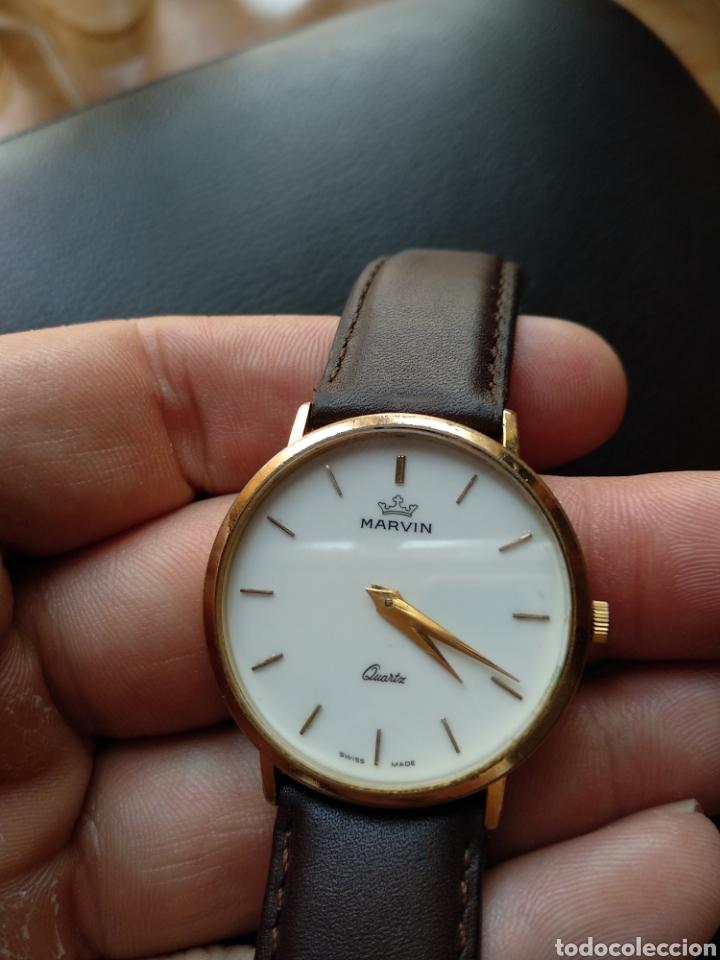 Relojes: Reloj Marvin suizo chapado en oro. Cuarzo - Foto 7 - 175204803