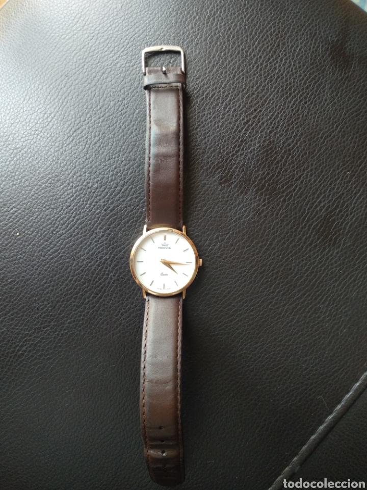 Relojes: Reloj Marvin suizo chapado en oro. Cuarzo - Foto 5 - 175204803