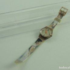 Relojes: BONITO RELOJ QUARTZ PRECIOSA DECORACION BAILARINA . Lote 175481468
