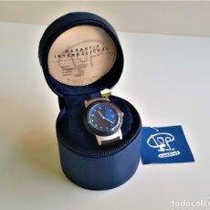 Relojes: RELOJ TOP SAFE CONTROL EN ESTCHE SIN USO - ESFERA 2.8.CM DIAMETRO BANDA DE MATERIAL. Lote 175530165
