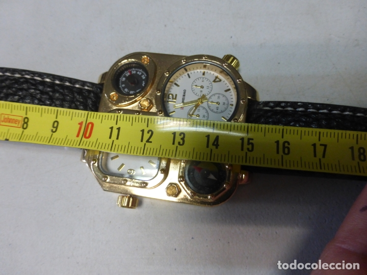 Relojes: BRUTALISTA RELOJ shiweibao J1108 marca para hombre Fashion Cool piel gran Bial cuarzo deportes - - Foto 2 - 175626304
