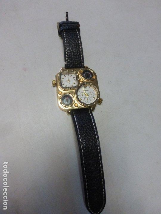 Relojes: BRUTALISTA RELOJ shiweibao J1108 marca para hombre Fashion Cool piel gran Bial cuarzo deportes - - Foto 3 - 175626304