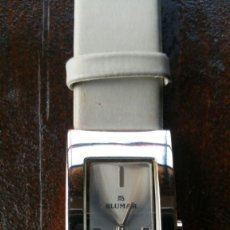 Relojes: RELOJ DE PULSERA BLUMAR PULSERA ORIGINAL BLUMAR, PILA NUEVA, COMO NUEVO. Lote 175699045