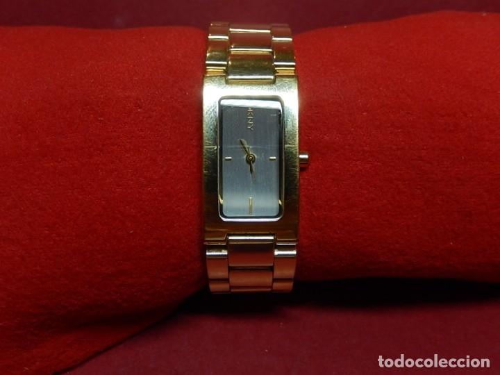 Relojes: Reloj Donna Karan New York. Quartz. - Foto 7 - 175948732