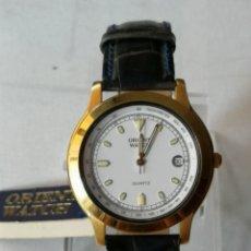 Relojes: RELOJ ORIENT .24 KARAT GOLD PLATED.NUEVO STOCK DE ANTIGUA RELOJERÍA.. Lote 176025385