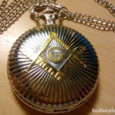 Relojes: RELOJ TEMATICO MASONERIA. Lote 176103384