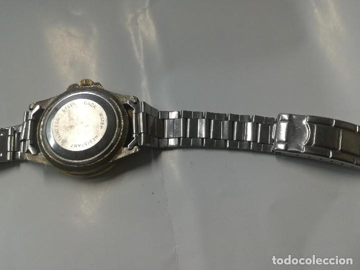 Relojes: RELOJ CUARZO QUARTZ. CORREA ORIGINAL - Foto 3 - 176150140
