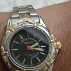 Relojes: ELEGANTE RELOJ MUJER DE ACERO. Lote 176225357