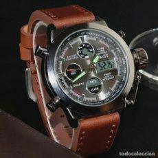 Relojes: RELOJ MILITAR ACUATICO, CRONO, ALARMA....45 MM. Lote 176307153