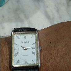 Relojes: GRAN RELOJ CABALLERO SHIVAS. Lote 176382174