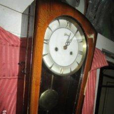 Relojes: MARCA GERDES ALEMAN ANTIGUO RELOJ DE SONERIA CAMPANADA DOBLE MAQUINARIA DE CUERDA. Lote 176471524