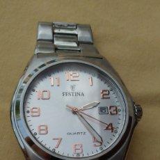 Relojes: RELOJ FESTINA ACERO F16374. Lote 176489210