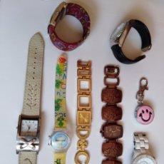 Relojes: LOTE DE 8 RELOJES - PORTES PAGADOS POR CORREO CERTIFICADO. Lote 176555153