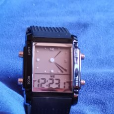 Relojes: RELOJ DE PULSERA QUARTZ DOBLE DIAL. Lote 176814917