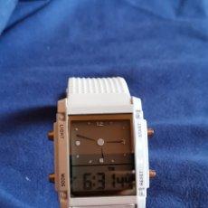 Relojes: RELOJ DE PULSERA QUARTZ, DOBLE DIAL. Lote 176816190