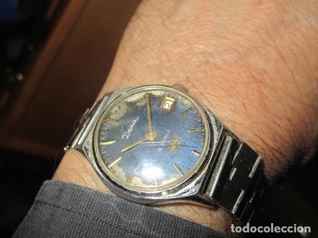 Relojes: DANA PRECIOSO RELOJ ANTIGUO CUERDA Y CALENDARIO NDISTINTO HOMBRE O MUJER FUNCIONA PERFECTO - Foto 3 - 89491964