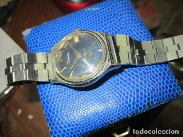 Relojes: DANA PRECIOSO RELOJ ANTIGUO CUERDA Y CALENDARIO NDISTINTO HOMBRE O MUJER FUNCIONA PERFECTO - Foto 6 - 89491964